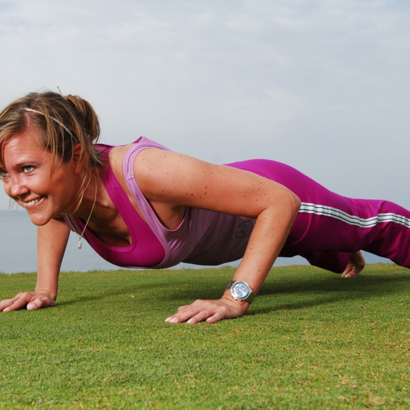 Träna din bålstabilitet i sommar:-)