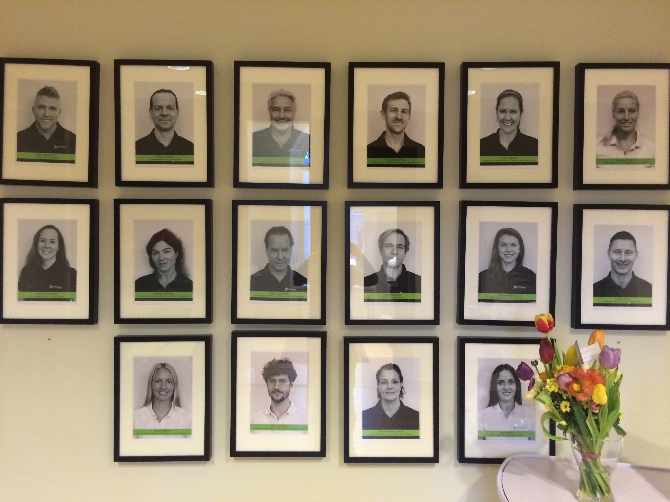 Wall of experts!