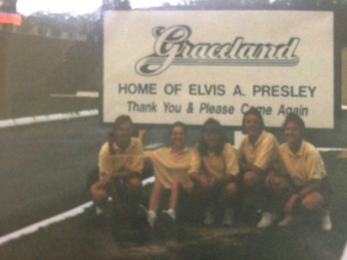 Tyvärr ingen tydlig bild, men den visar när vi (lag UCF) var på Graceland under en kort paus ifrån tävlingen i Memphis, Tennesse. Vi fick uppleva otroligt mycket på våra resor.