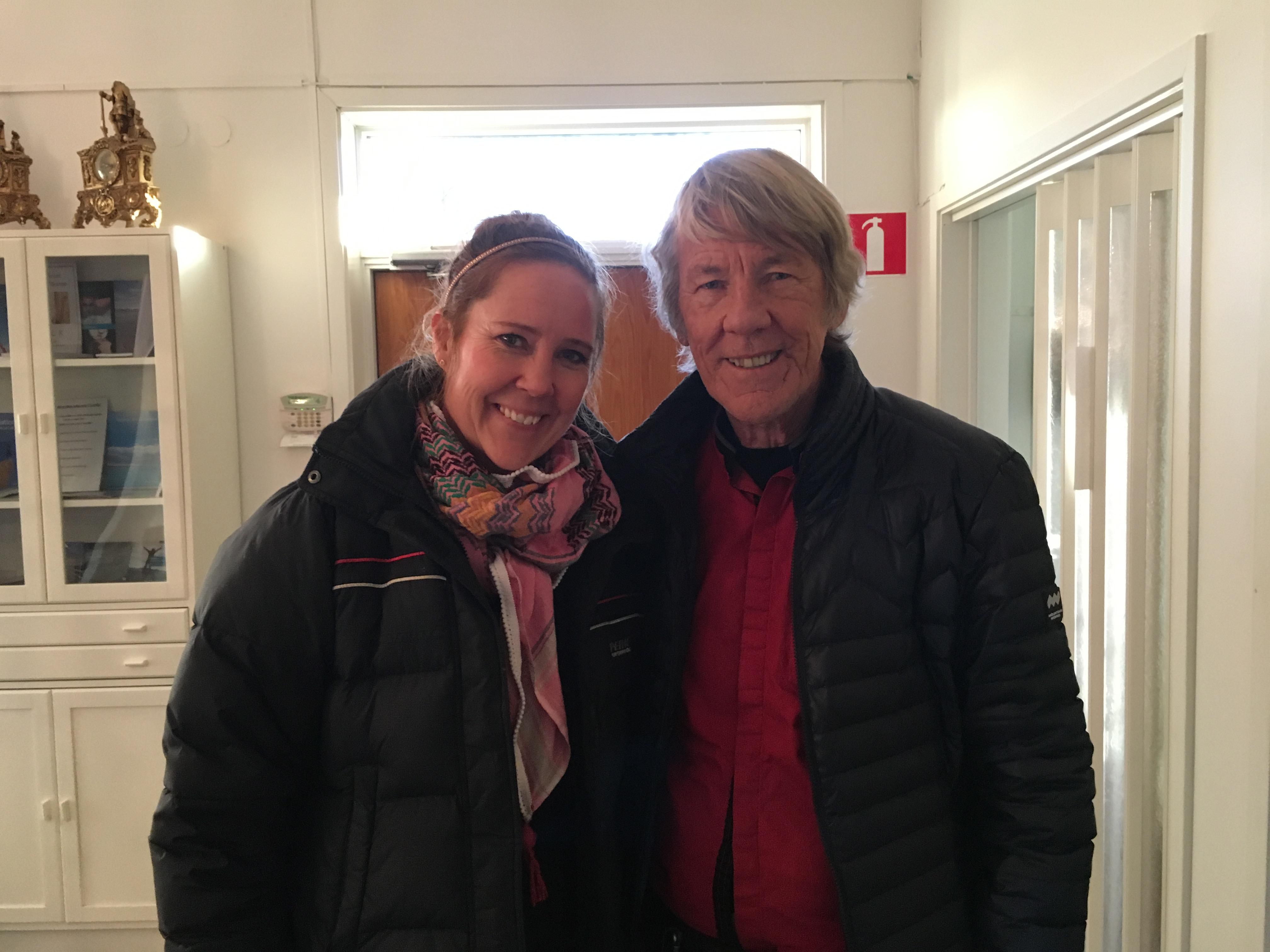 Jenny och Lars-Eric Uneståhl