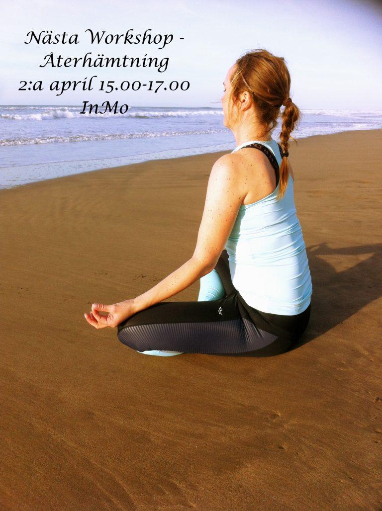 Nästa workshop med fokus återhämtning- 2 april!