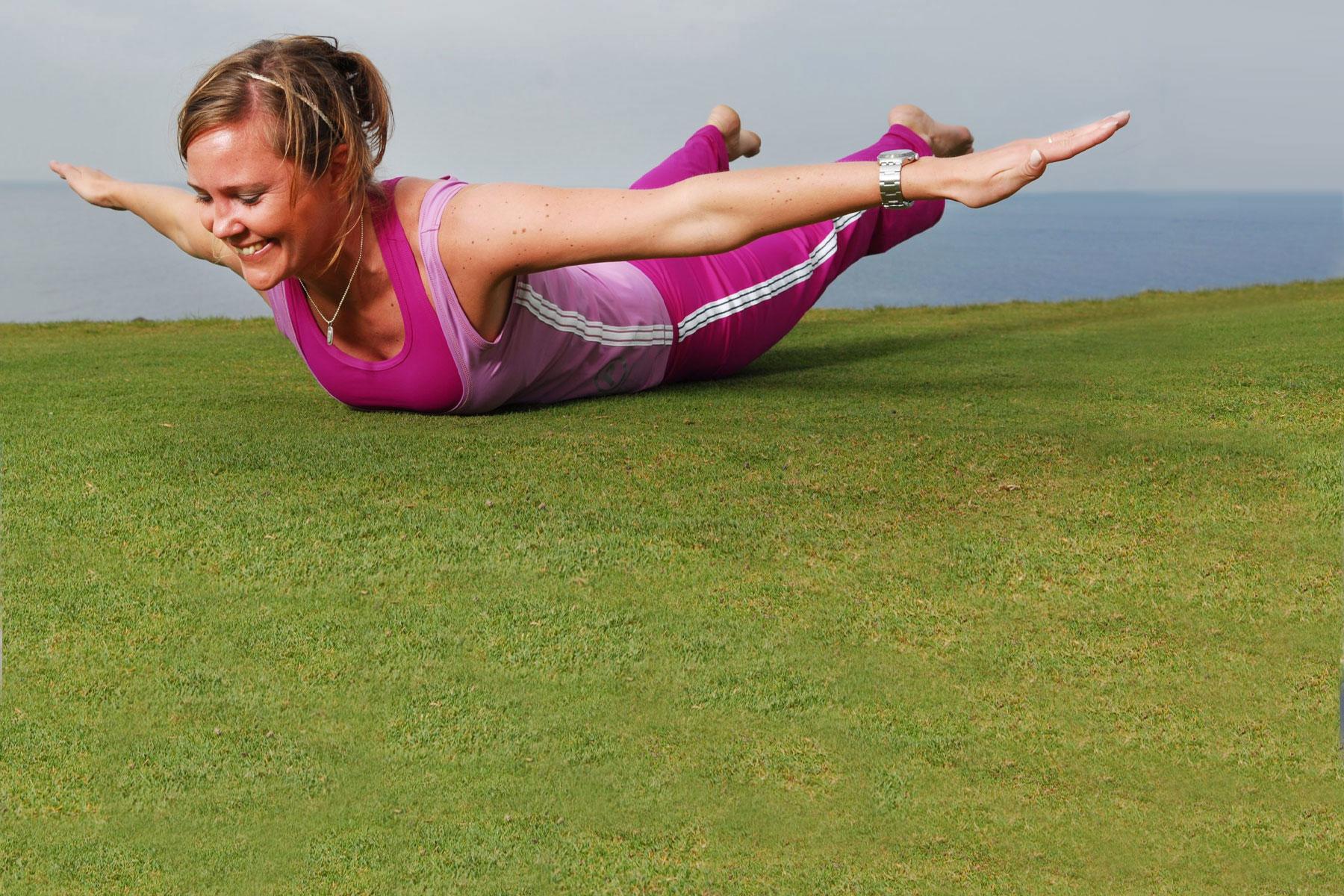 Bålstabilitet och fysträning för golfare