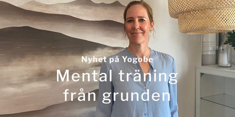 Mental träning online hos Yogobe