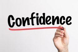 more confidence