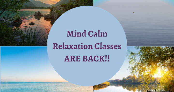 Relaxation Classes for anxiety & overwhelm