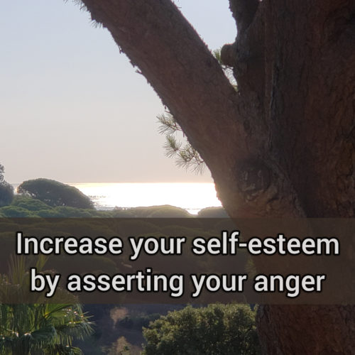 Increase your self-esteem by asserting your anger