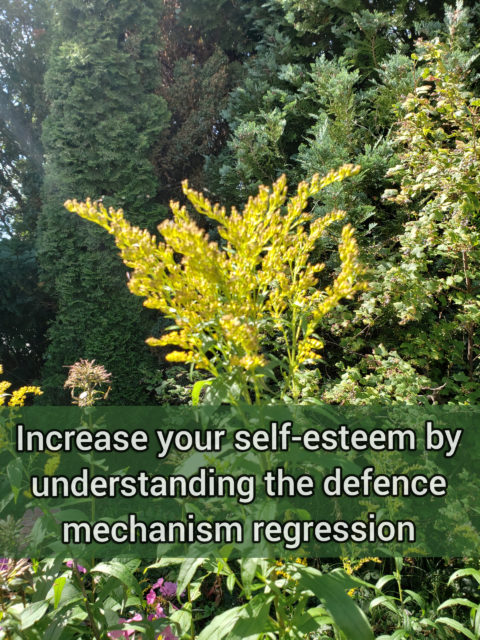 Increase your self-esteem by understanding the primitive defense mechanism repression