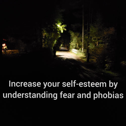 Increase your self-esteem by understanding fear and phobias