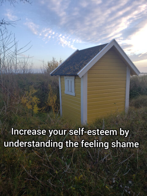 Increase your self-esteem by understanding the feeling shame