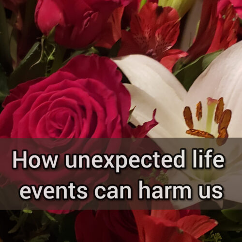 Self-esteem: How unexpected life events can harm us