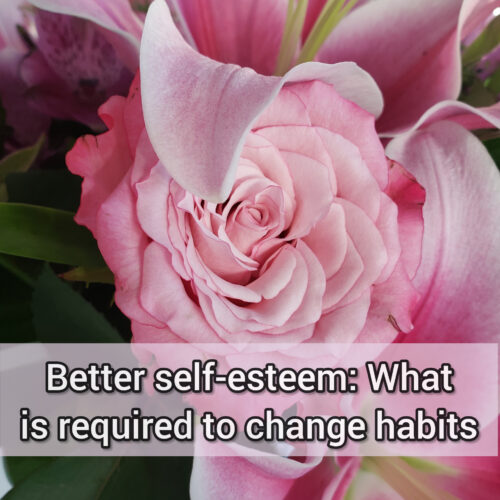 Better self-esteem: What is required to change habits