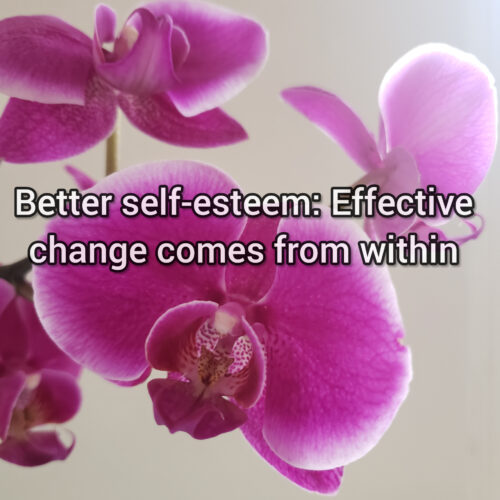 Better self-esteem: Effective change comes from within