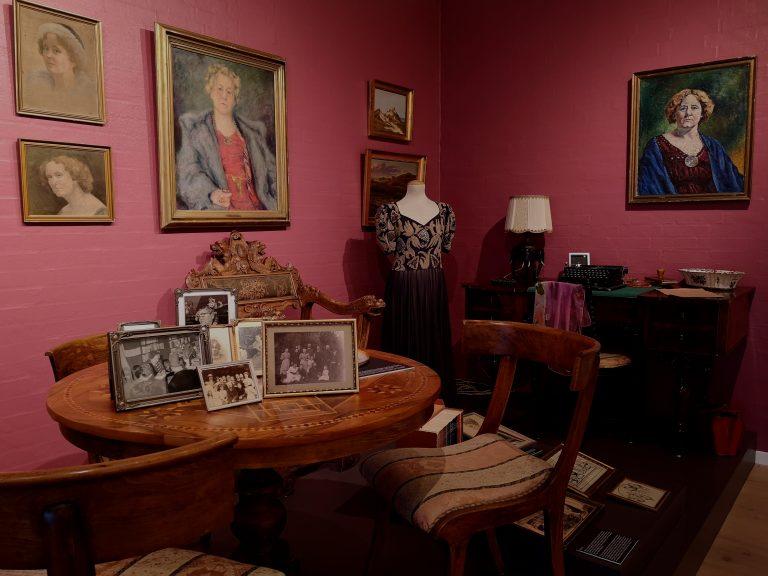 Interiør fra udstillingen