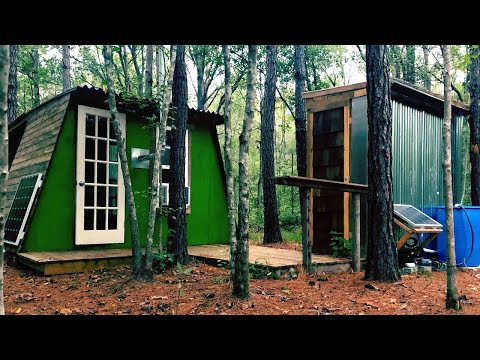 My $3,000 Tiny House In The Woods