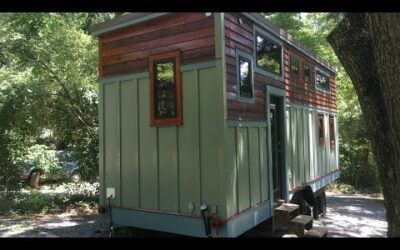 Gorgeous Tiny House Built By Husband and Wife