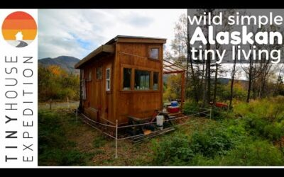 "6'7"" Man's Peaceful Tiny House Life in Alaska"