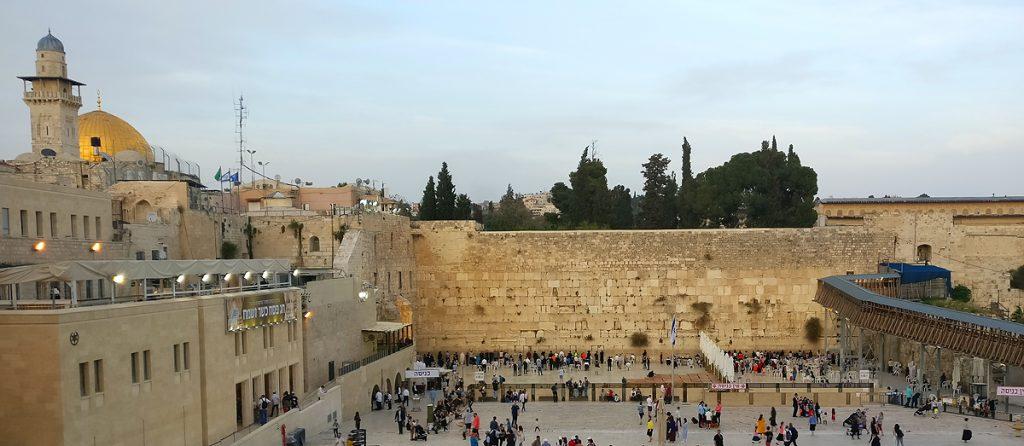 Västra muren, Jerusalem. Berättelsen om Bibelns ursprung. Foto: Melody Sundberg