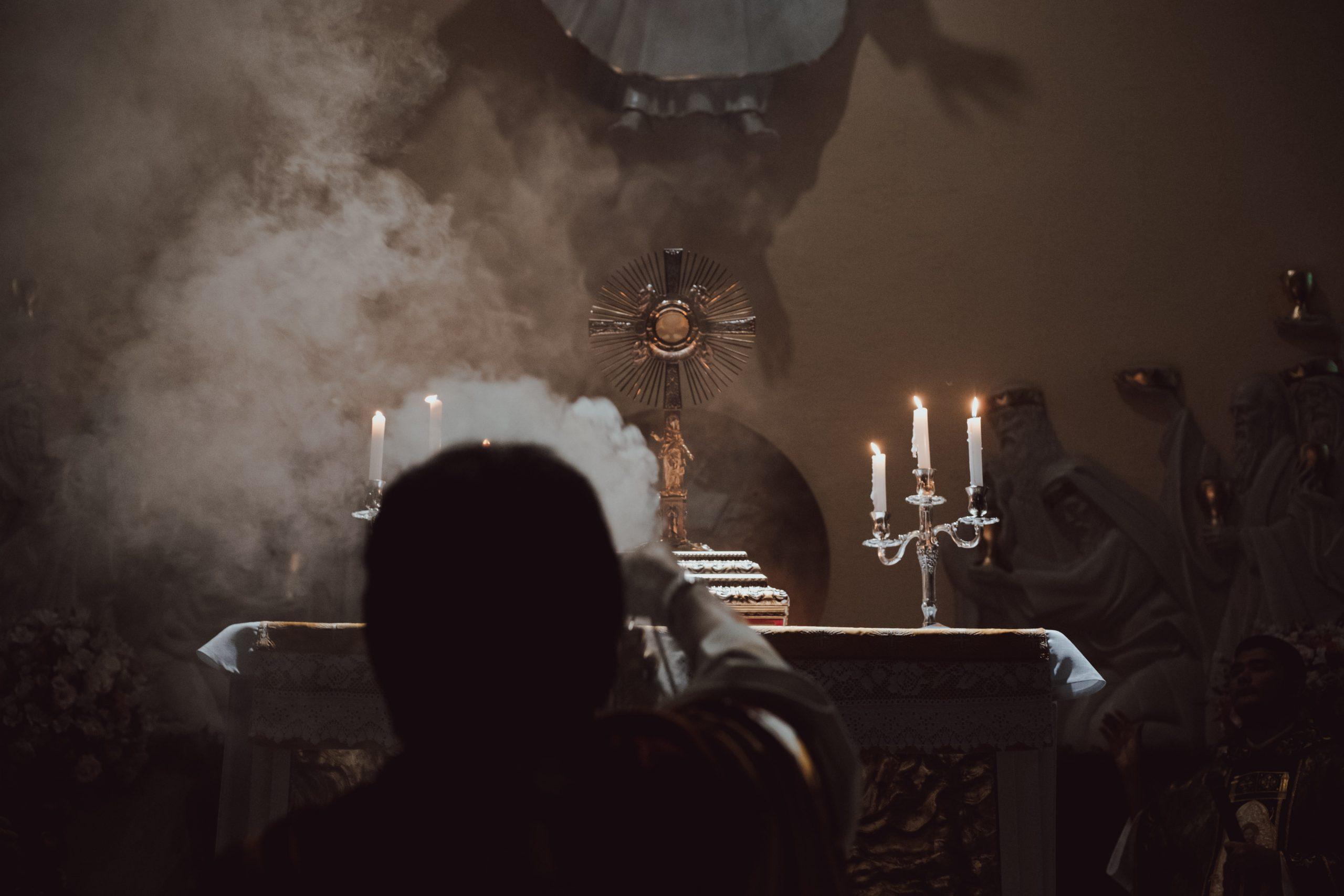 Katolska mystiker visar bort från Golgata