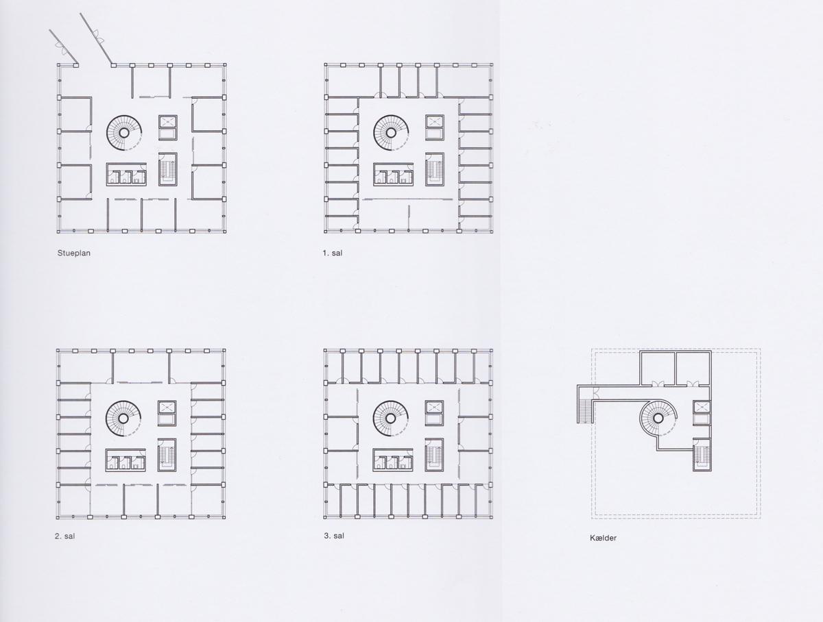 Planer, Tønder rådhus