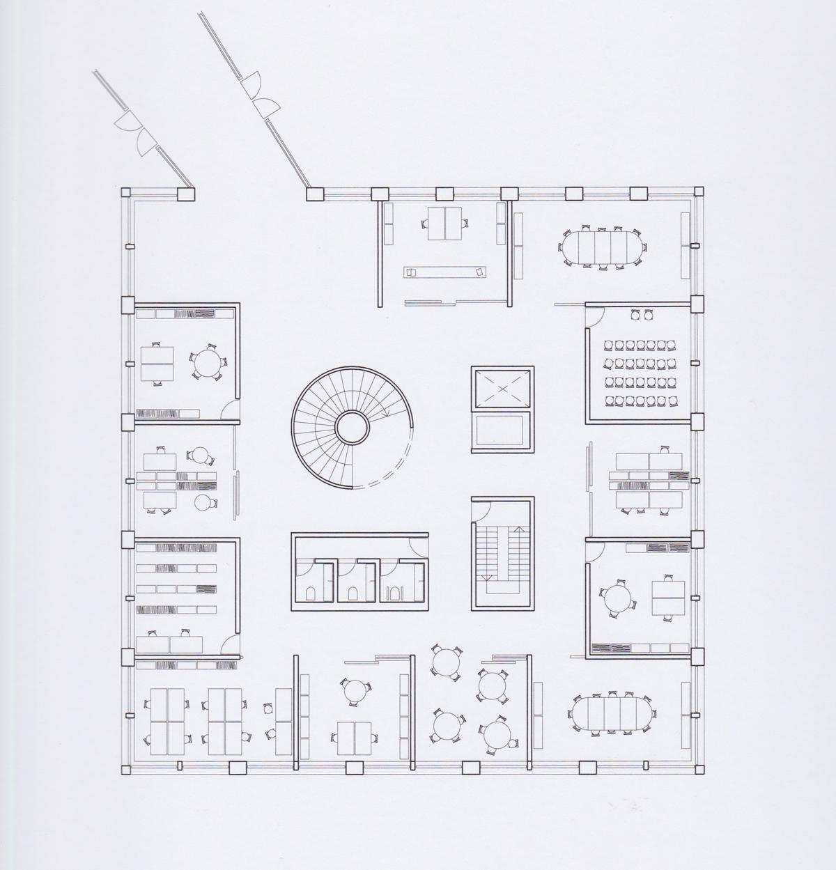 stueplan Tønder Rådhus