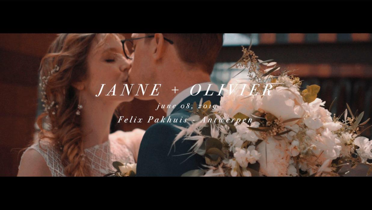 Trouwvideo Janne + Olivier / Videograaf Jimmy + Kasia