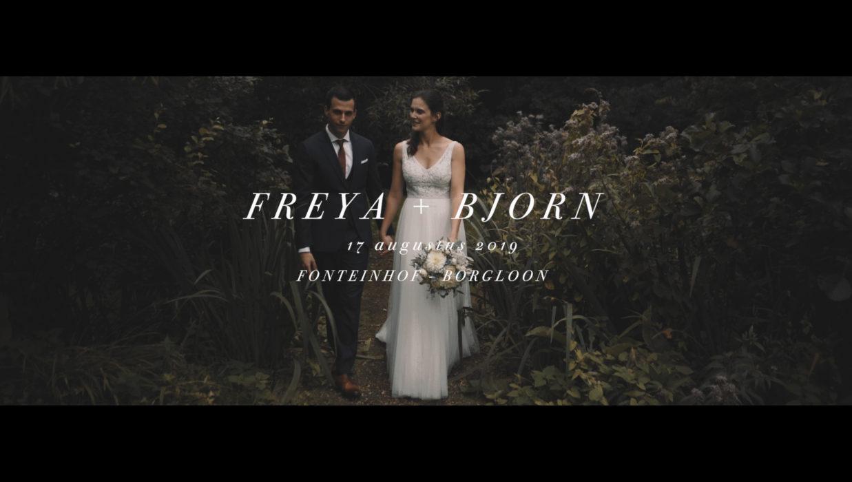 Trouwvideo Freya + Bjorn / Videograaf Jimmy + Kasia
