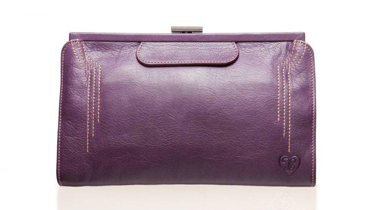 Contessa Purse - Aubergine Purple