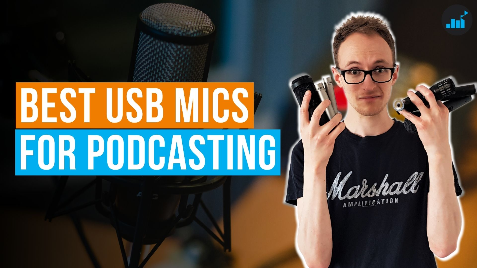 best usb microphone for podcasting thumbnail