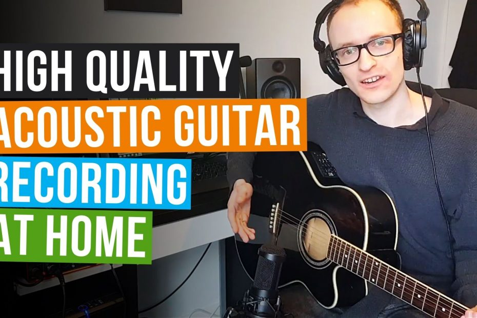 how to record acoustic guitar with a condenser mic