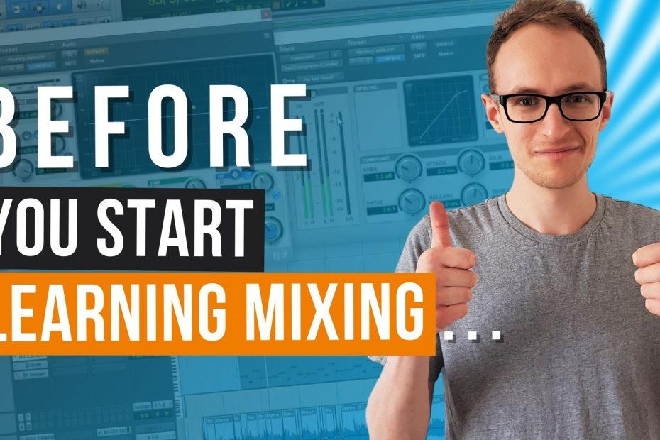 learning music mixing thumbnail