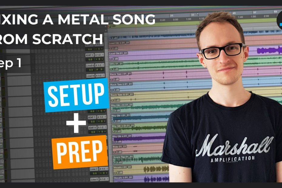 mixing a metal song from start to finish thumbnail