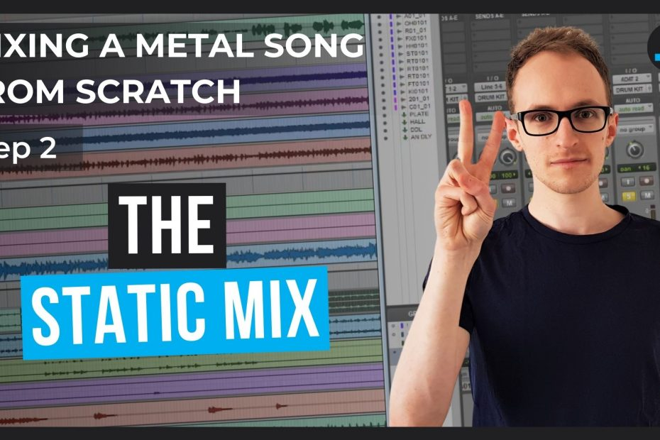 mixing a metal song part 2 thumbnail