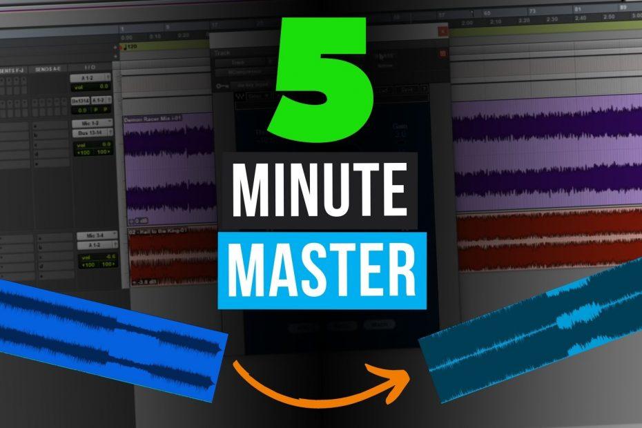 mastering a song thumbnail