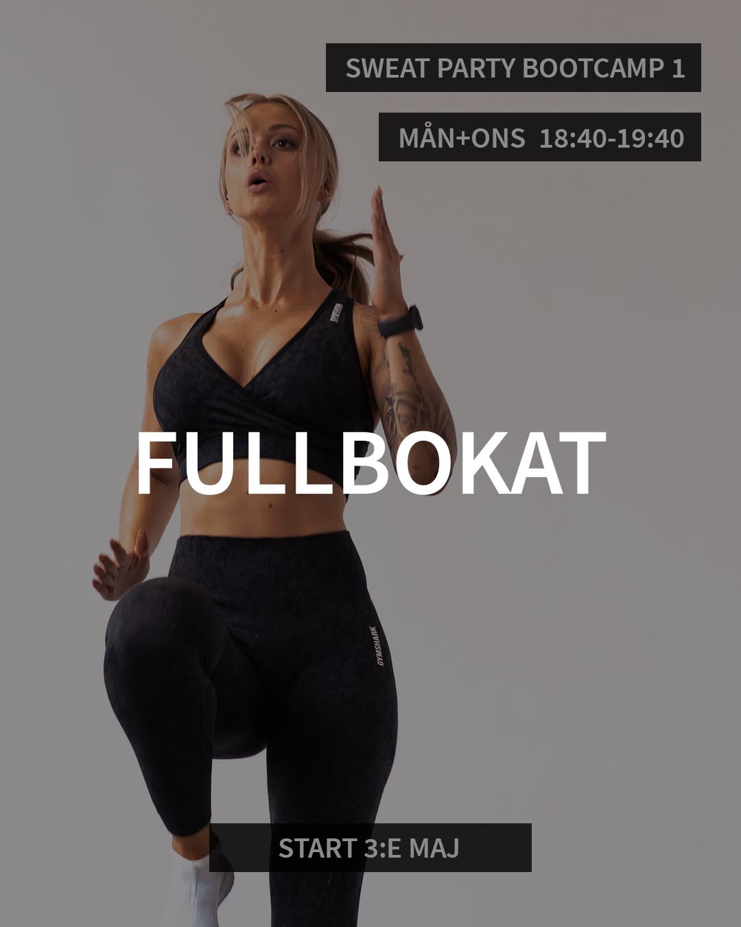 SWEAT PARTY BOOTCAMP 1