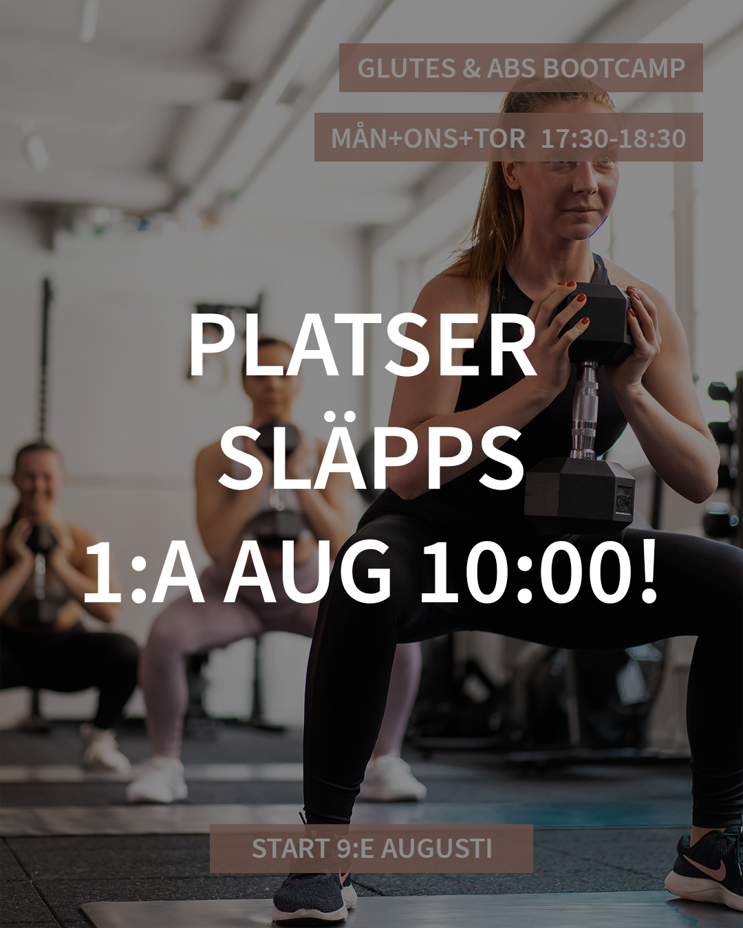 GLUTES & ABS BOOTCAMP