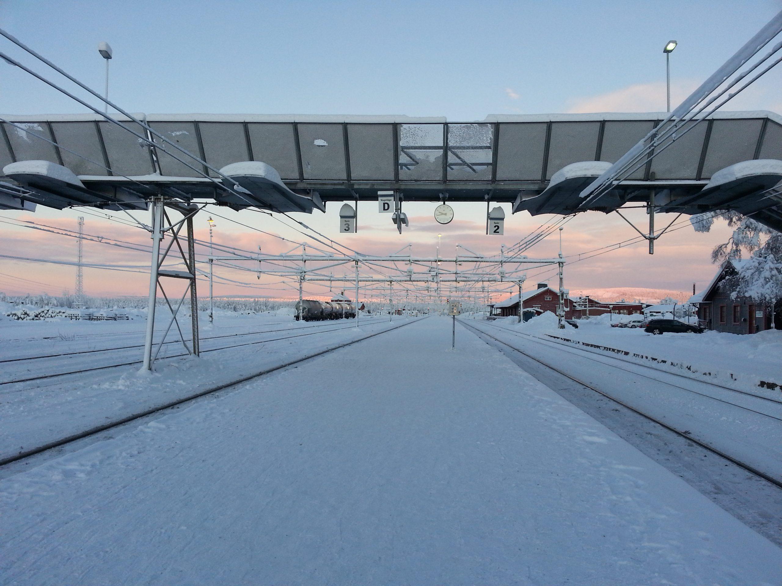 Train station Lapland