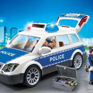 VOITURE POLICIER + GYROPHARE
