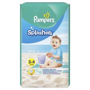 PAMPERS SPLASHERS T3-4/6-11kg