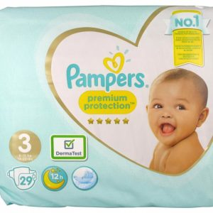 PAMPERS PREMIUM PROTECTION T3 6-10 KGS 29 COUCHES