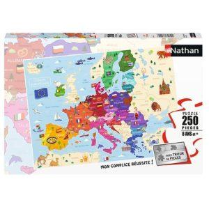 PUZZLE 250P CARTE D'EUROPE