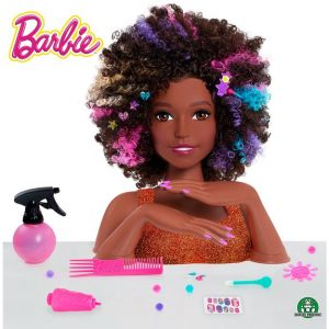 BARBIE TETE A COIFFER AFRO STYLE