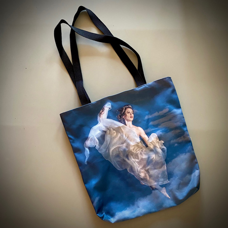 Prize option Nr 1 for the first BOOST 2021 Enrollee - A beautiful tote bag