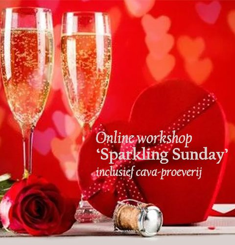 Sparkling Sunday - online workshop en cava-proeverij