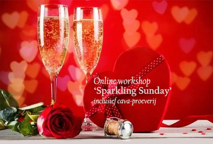 Sparkling Sunday - online workshop en cava-proeverij
