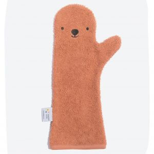 Baby Shower Glove – Bear Rust