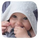 Handsfree Towel – Panda Grey Blue