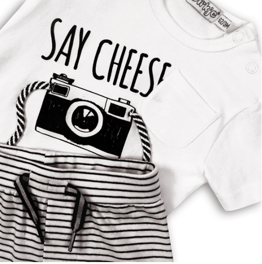 Say Cheese! Babysuit