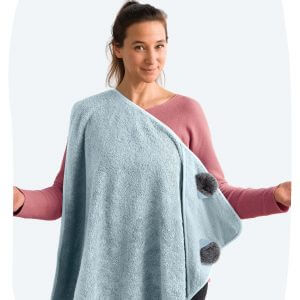 Handsfree Towel – Koala Light Blue