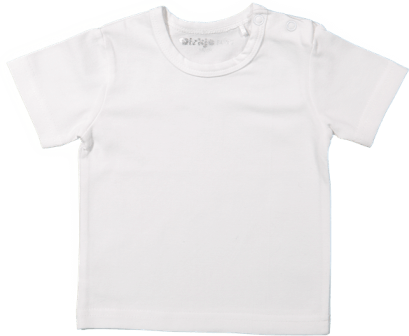 Baby Tshirt short sleeves White