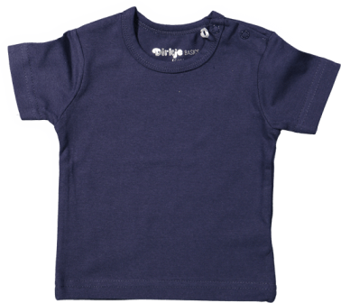 Baby Tshirt short sleeves Navy Basic